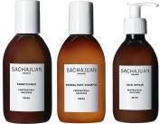 Sachajuan Normal Hair Conditioner 240ml + Hair Repair 240ml + Normal Hair Shampoo 240ml
