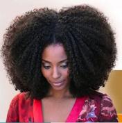 YAMI 7A Unprocessed Virgin Hair Brazilian Afro Kinky Curly Hair Weave 2 Bundles Karizma Hair Human Hair Extension 20cm - 70cm Bebe Curl No Shedding 200g