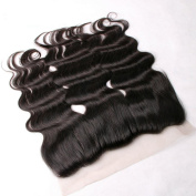 Greatremy 60cm 13x 4 Body Wave Lace Frontal Closure Free Part Brazilian Human Hair Ear to Ear Frontal