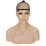 StrongBeauty 2Pcs Unisex Elastic Wig Caps Mesh Net Weaving For Wigs