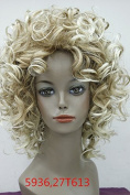 Short Fluffy Curly Handsome Short Wavy Synthetic Hair Wig