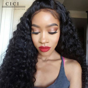Cici Collection Lace Front Wigs 250% High Density Lace Front Human Hair Wigs For Black Women 7A Brazilian Wig Deep Curly Lace Front Human Hair Wigs