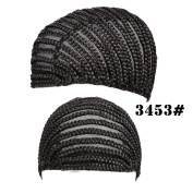 Silike Crochet Braided Wig Caps in Cornrow Sew Hair For Making Wigs