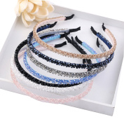 Cfrmall Girls / Women Ribbon or Jewellery Crystal Pearl Headbands
