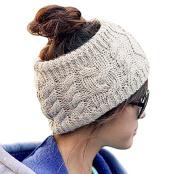 JOVANA Winter Warm Twist knitting wool hat headgear Women's Ladies Korea Knit Crochet flora Twist Style Headband Head Wrap