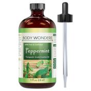 Body Wonders 100% Pure Peppermint Essential Oil (Mentha Piperita) 120ml