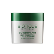Biotique Spot correcting Anti-Acne Cream - Winter Green 16g by Biotique