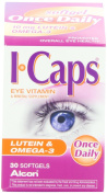 Icaps Lutein and Omega-3 Eye Vitamin and Mineral Supplement, 60 softgels
