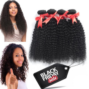 (18 20 60cm ) 8A Brazilian Kinky Curly Virgin Hair Extensions Deep Curly Weave Human Hair 3 Bundle Pack Kinky Curly Wave