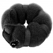 2 PCS Magic Hair Styling Styler Twist Ring Former Shaper Doughnut Donut Chignon Bun Maker Clip Hair Curler Accessory (Small and Large)