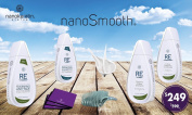 NanoSmooth- smoothing treatment, perfect Kit for natural/virgin hair, Do It Yourself. That treatment will give you real & amazing results, kit contains 9 items & easy doing at home, for up to 6 months