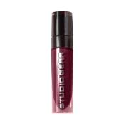 Studio Gear Whipped Stain Lip Gloss, Long Wear Formula, Lightweight, Bold, One Coat, Wine