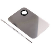 Q-COOL High Quality Professional Pro Stainless Steel Cosmetic Makeup Palette Spatula Tool (150x100MM)
