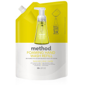 Method Foaming Hand Wash Refill, Lemon Mint, 6 Count