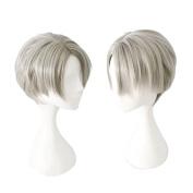 Cfalaicos Yuri!!! on Ice Victor Nikiforov Cospaly Wig Short Synthetic Hair - 2 Colour