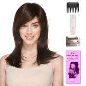 Vogue by Ellen Wille, Wig Galaxy Hair Loss Booklet, 60ml Travel Size Wig Shampoo, Wig Cap, & Wide Tooth Comb (Bundle - 5 Items), Colour Chosen
