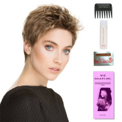 Tab by Ellen Wille, Wig Galaxy Hair Loss Booklet, 60ml Travel Size Wig Shampoo, Wig Cap, & Wide Tooth Comb (Bundle - 5 Items), Colour Chosen
