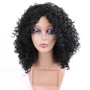 HANNE Kinky Curly Wig Synthetic Party Cosplay Full Wigs For Women