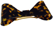 French Amie Bow Tokyo Large Celluloid Acetate Handmade Automatic Hair Clip Hair Barrette for Girls