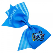 Harry Potter Ravenclaw Cheer Crest Blue Bow