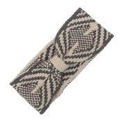 Hunputa Fashion Womens Girl Bohemia Knit Ear Warmer Crochet Headband Hairband Wrap