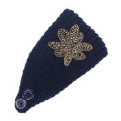 Hunputa Womens Warm Hat Skiing Cap Knitted Empty Skull Beanie Headband