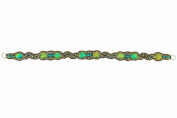 """Pink Pewter Authentic """"Jenny"""" Green Detachable Stretchband & Choker"""