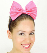 Hot Pink Daisy Duck Bow Inspired Headband Handmade Hair Accessory by Sweet in the City