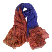 Datework Women Long Soft Wrap Shawl Voile Scarf