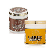 Bundle - 2 Items : Layrite Super hold Pomade, 120ml & Layrite Deluxe Original Pomade, 120ml