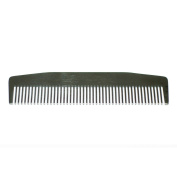Stainless Steel Comb 14cm - Model No. 3 Black Comb by Chicago Comb