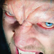 Tinsley Transfers EVIL BROW / VAMPIRE BROW - Film Quality Realistic 3D Prosthetic Makeup FX Transfer. Apply With Water.