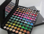 Terrece 88 Colours Eye Shadow Colour Palette Series Makeup Kit Eyeshade Multicolor Professional Box Natural Smokey Classic Eyeshadow Set with Mirror And Brush Wands