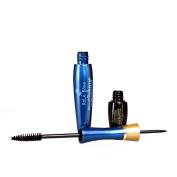 Silvercell Lash Extension Eyelash Long Curling Black Mascara+3D Fibre Lashes Makeup