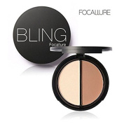 Bling Focallure 2 Diff Colour Concealer Matte Powder