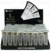 J2 LIP GLOSS JUICY CLEAR ONLY 72PCS