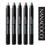 NANACOCO Jumbo Eye & Lip Pencil 0ml (22201-Black), 10-Pack