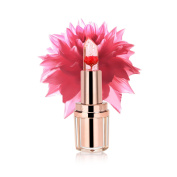 PrettyDiva Translucent Moisturiser lipsticks Lips Care Surplus Bright Flower Jelly Lipstick - Flame Red