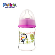 Mother Nest Baby Glass Bottle Wide-neck