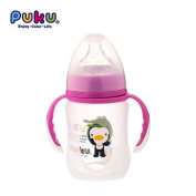 Mother Nest Baby Glass Learner Cup Wide-neck explosion-proof Bottle