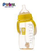 Mother Nest PPSU Baby Nursing Wide-Neck Angled Bottle