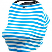 Cute Baby Nursing And Car Seat Cover Multi Use Breastfeeding Scarf Wrap