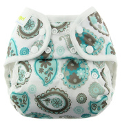 Blueberry Capri Snap Nappy Cover, Paisley Size 1