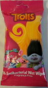 Dreamworks Trolls 16 Ct Antibacterial Wet Wipes Fragrance Free