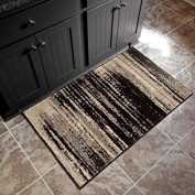 Better Homes and Gardens Black Shaded Lines Area Rug