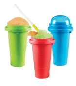 Chill Factor Squeeze Cup Slushy Maker - Colour Blast by Chill Factor