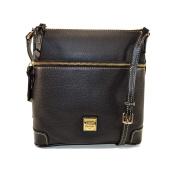 Dooney & Bourke Pebble Leather Crossbody Blk / Blk