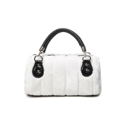 Plover's Bag Lady's Cony Party Banquet Luxurious Handbag Carry-on Bags Messenger Bag