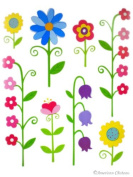 Kids Room Decor Vinyl Wall Decal Nursery Garden Art Mural Sticker Wallies