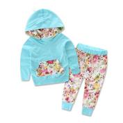 Yoyorule Baby Boys Girls Spring Sweatshirt Tops+Pants 2pcs Outfits Tracksuit
